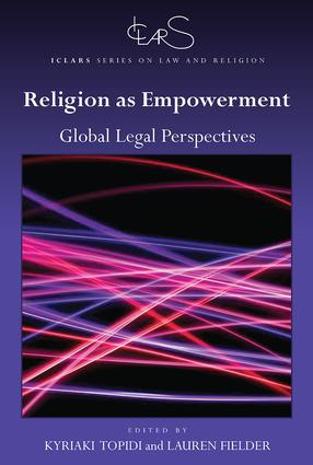 Religion as Empowerment: Global legal perspectives book cover