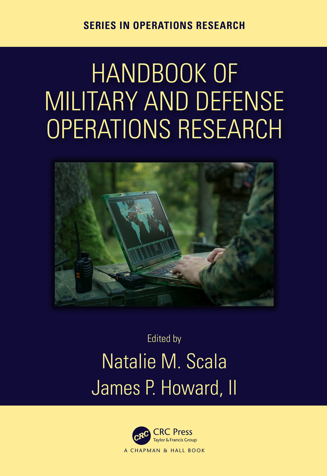 Handbook of Military and Defense Operations Research: 1st Edition (Hardback) book cover