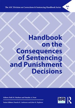 Handbook on the Consequences of Sentencing and Punishment Decisions book cover