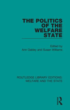 The Politics of the Welfare State book cover