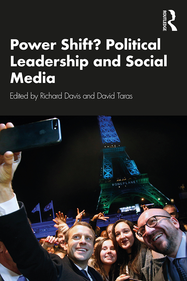Power Shift? Political Leadership and Social Media: 1st Edition (Hardback) book cover