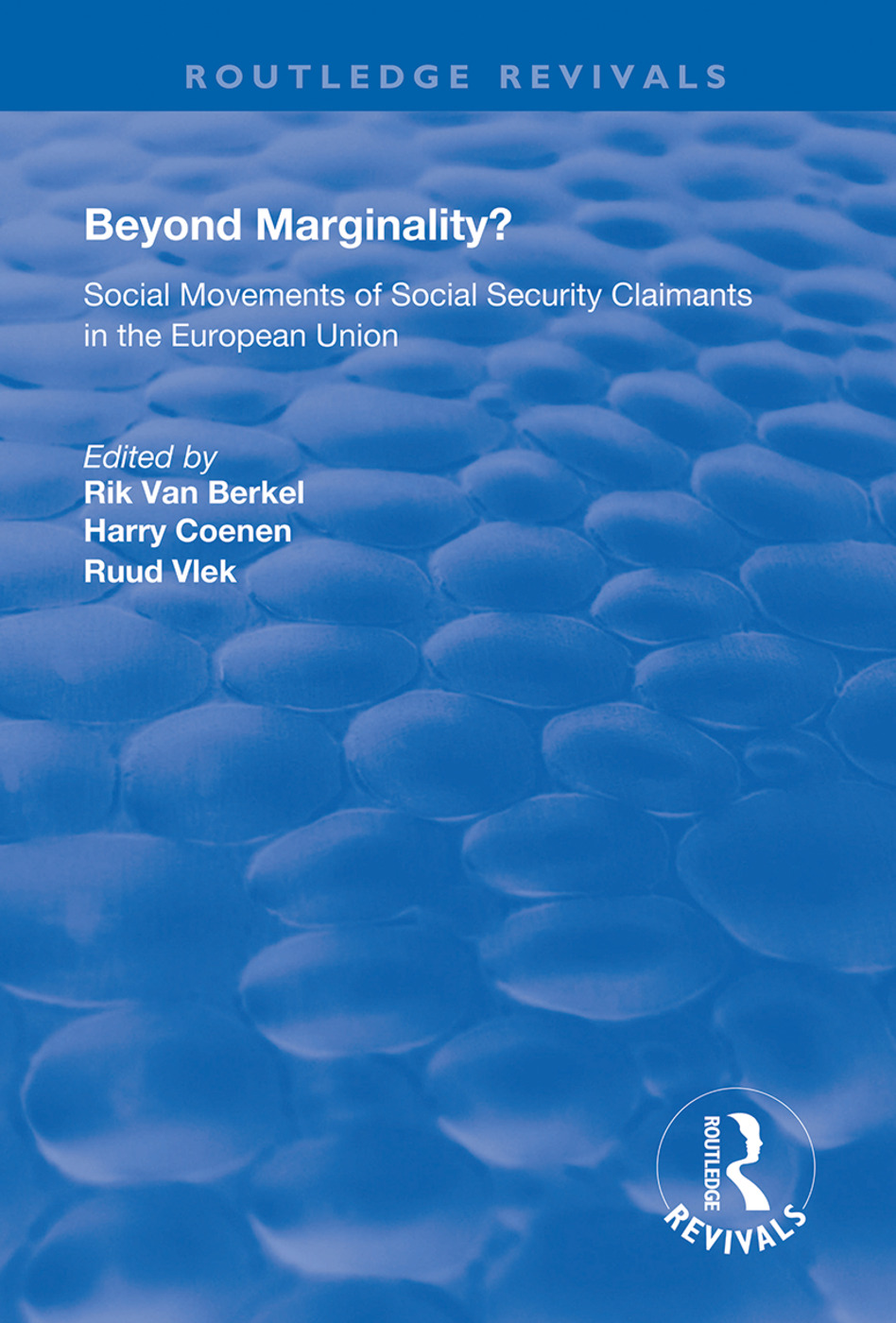 Beyond Marginality?: Social Movements of Social Security Claimants in the European Union book cover
