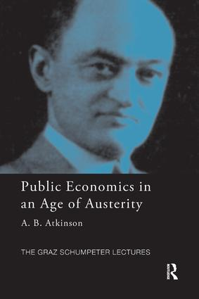 Public Economics in an Age of Austerity: 1st Edition (Paperback) book cover