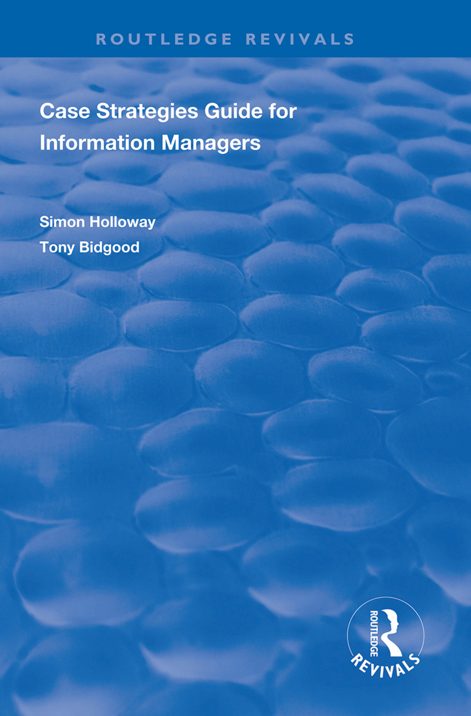 CASE Strategies Guide for Information Managers book cover