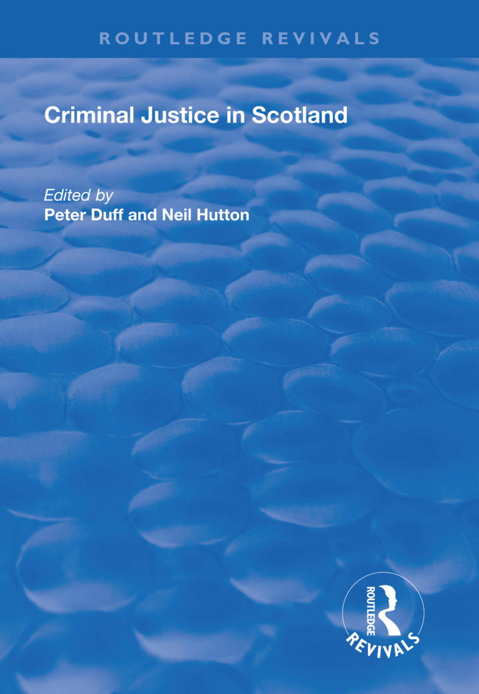 Criminal Justice in Scotland book cover