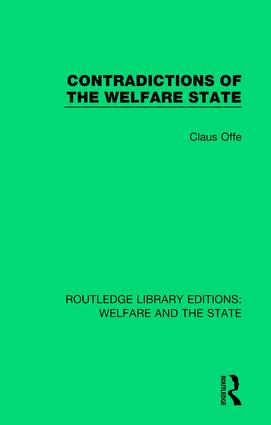 Contradictions of the Welfare State