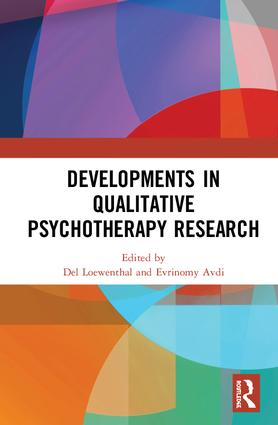 Developments in Qualitative Psychotherapy Research: 1st Edition (Hardback) book cover
