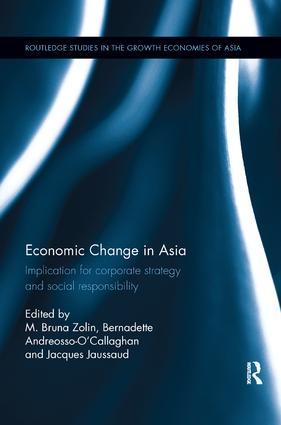 Economic Change in Asia: Implications For Corporate Strategy and Social Responsibility, 1st Edition (Paperback) book cover