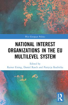 National Interest Organizations in the EU Multilevel System book cover