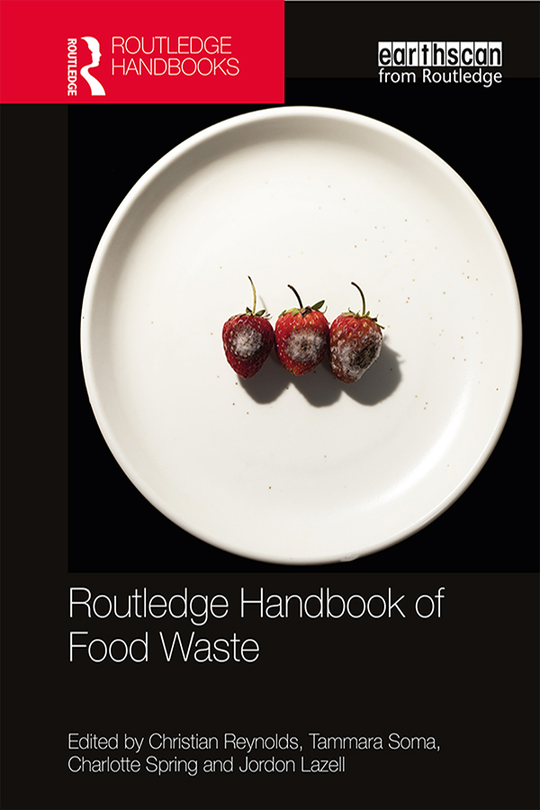 Routledge Handbook of Food Waste book cover
