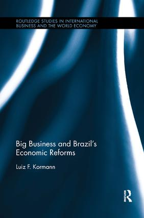 Big Business and Brazil's Economic Reforms book cover