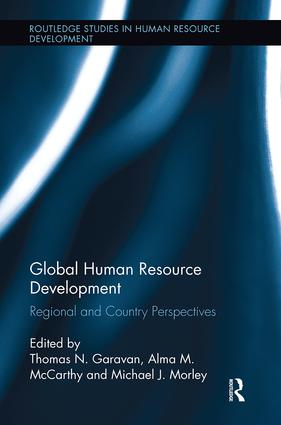 Global Human Resource Development: Regional and Country Perspectives, 1st Edition (Paperback) book cover