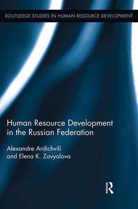 Human Resource Development in the Russian Federation: 1st Edition (Paperback) book cover