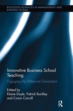Innovative Business School Teaching: Engaging the Millennial Generation book cover
