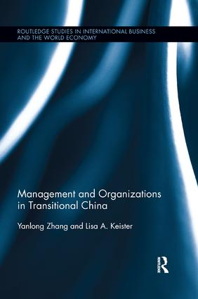 Management and Organizations in Transitional China: 1st Edition (Paperback) book cover