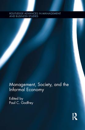 Management, Society, and the Informal Economy: 1st Edition (Paperback) book cover