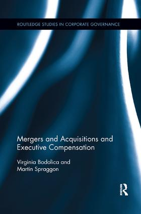 Mergers and Acquisitions and Executive Compensation book cover