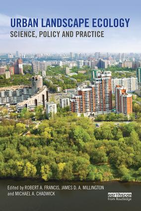 Urban Landscape Ecology: Science, policy and practice book cover