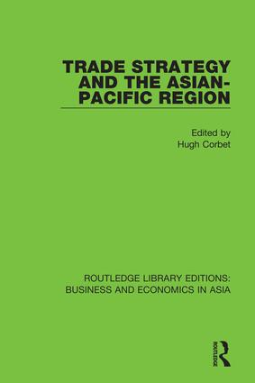Trade Strategy and the Asian-Pacific Region book cover