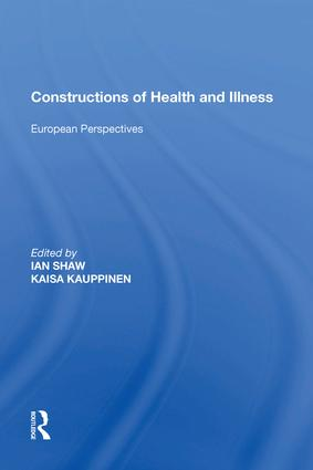 Constructions of Health and Illness