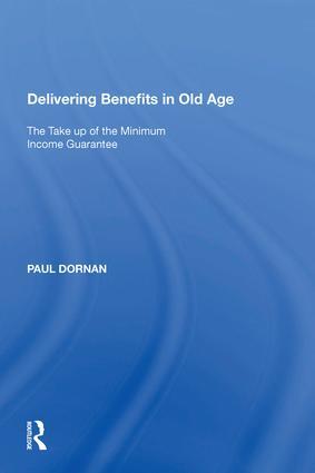 Delivering Benefits in Old Age