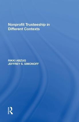Nonprofit Trusteeship in Different Contexts