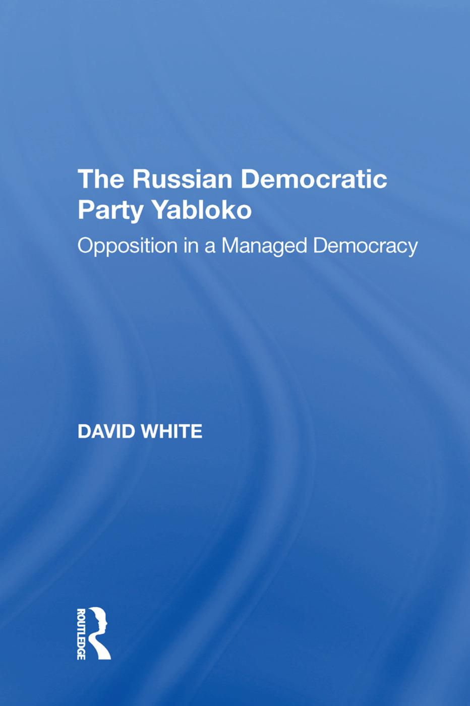 The Russian Democratic Party Yabloko