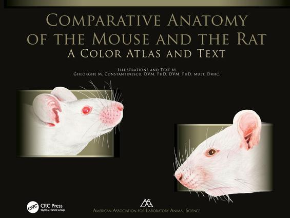 Comparative Anatomy of the Mouse and the Rat: A Color Atlas and Text, 1st Edition (Paperback) book cover