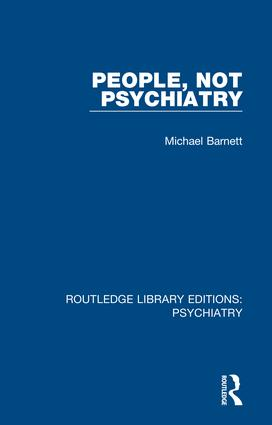 People, Not Psychiatry book cover