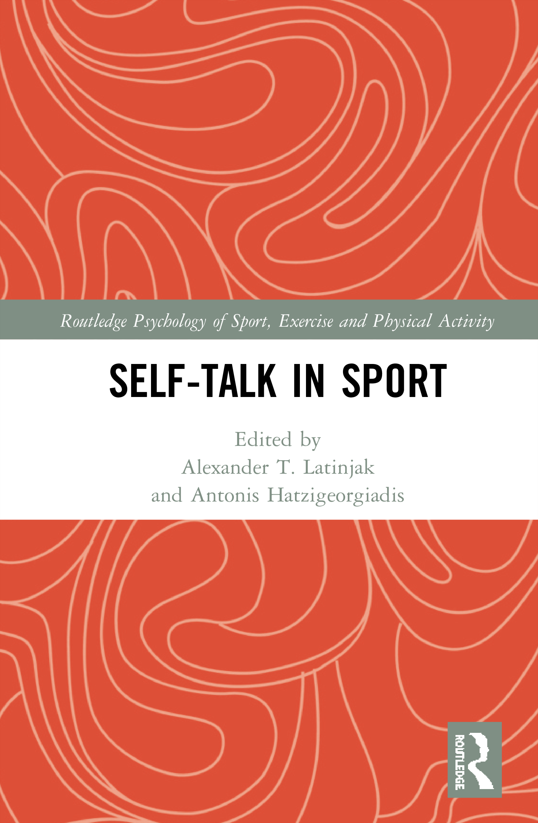 Self-talk in Sport: 1st Edition (Hardback) book cover