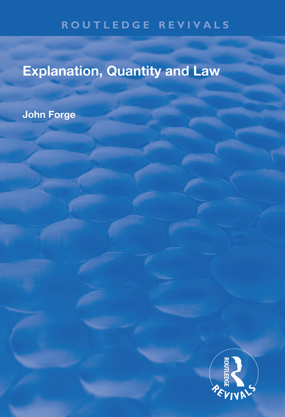 Explanation, Quantity and Law book cover