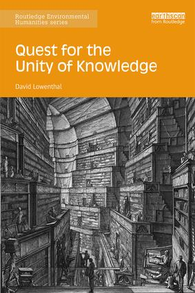 Quest for the Unity of Knowledge: 1st Edition (Paperback) book cover