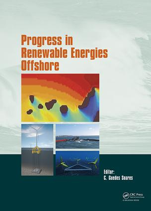 Progress in Renewable Energies Offshore: Proceedings of the 2nd International Conference on Renewable Energies Offshore (RENEW2016), Lisbon, Portugal, 24-26 October 2016, 1st Edition (Hardback) book cover