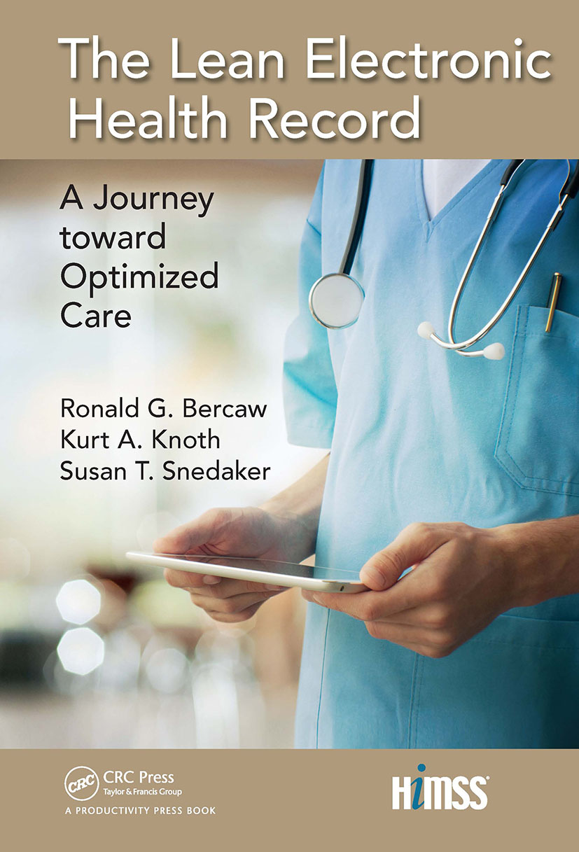The Lean Electronic Health Record: A Journey toward Optimized Care book cover
