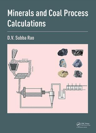 Minerals and Coal Process Calculations: 1st Edition (Hardback) book cover