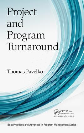 Project and Program Turnaround: 1st Edition (Hardback) book cover