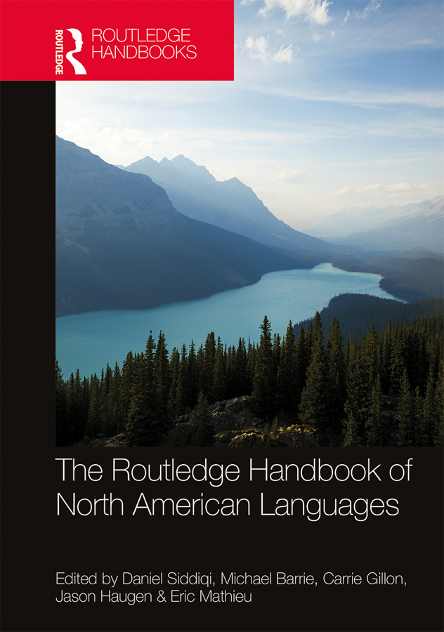 The Routledge Handbook of North American Languages book cover