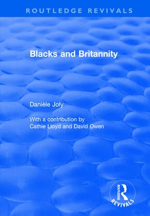 Blacks and Britannity book cover