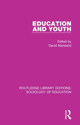 Education and Youth book cover