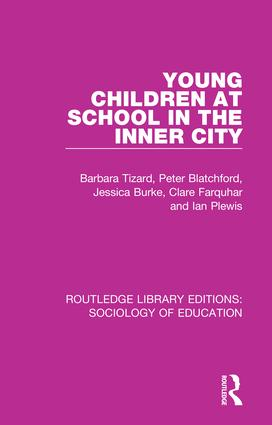 Young Children at School in the Inner City: 1st Edition (Paperback) book cover