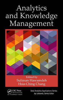 Analytics and Knowledge Management: 1st Edition (Hardback) book cover