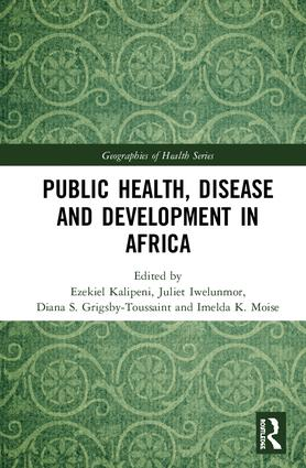 Public Health, Disease and Development in Africa: 1st Edition (Hardback) book cover