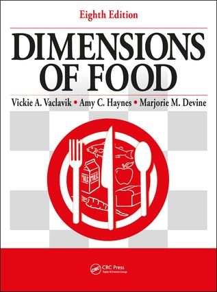 Dimensions of Food: 8th Edition (Paperback) book cover