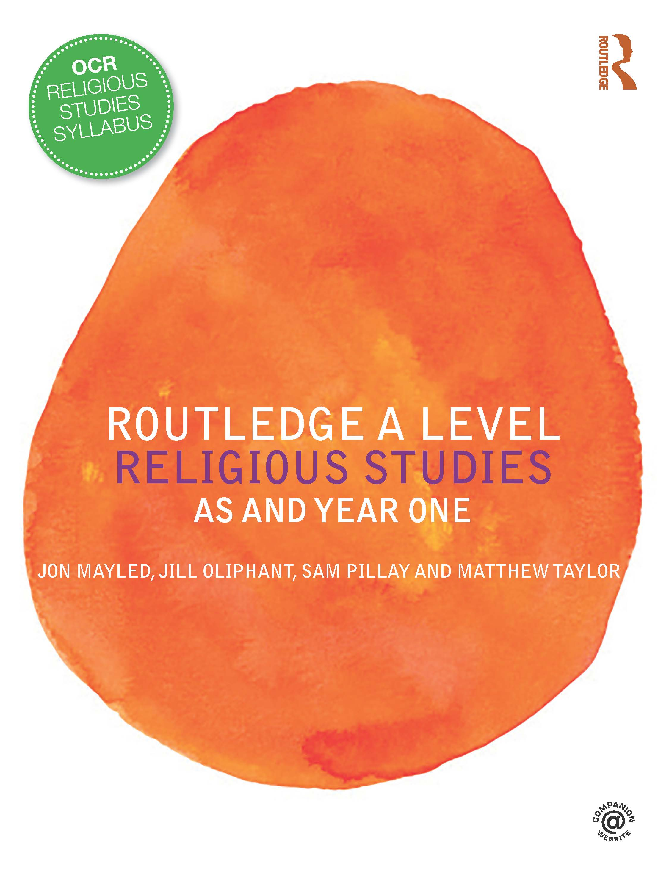 Routledge A Level Religious Studies: AS and Year One book cover