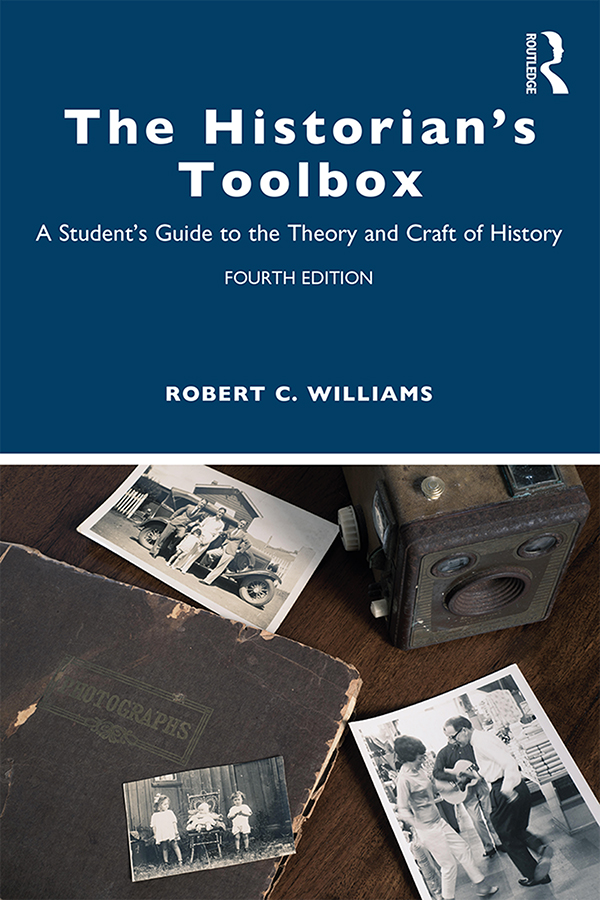 The Historian's Toolbox: A Student's Guide to the Theory and Craft of History book cover