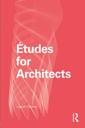 Études for Architects: 1st Edition (Paperback) book cover