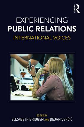 Experiencing Public Relations: International Voices (Paperback) book cover