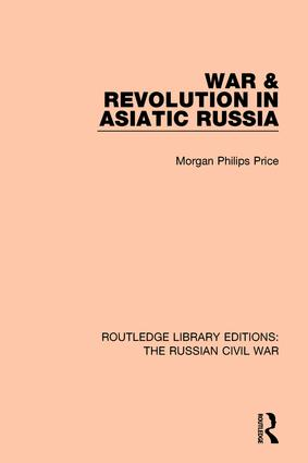 War & Revolution in Asiatic Russia book cover