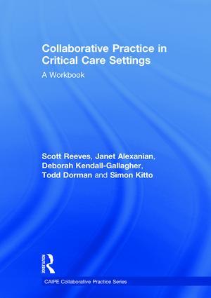Collaborative Practice in Critical Care Settings: A Workbook book cover