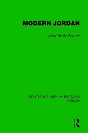 Modern Jordan book cover